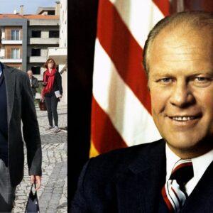Frederico Varandas e Gerald Ford