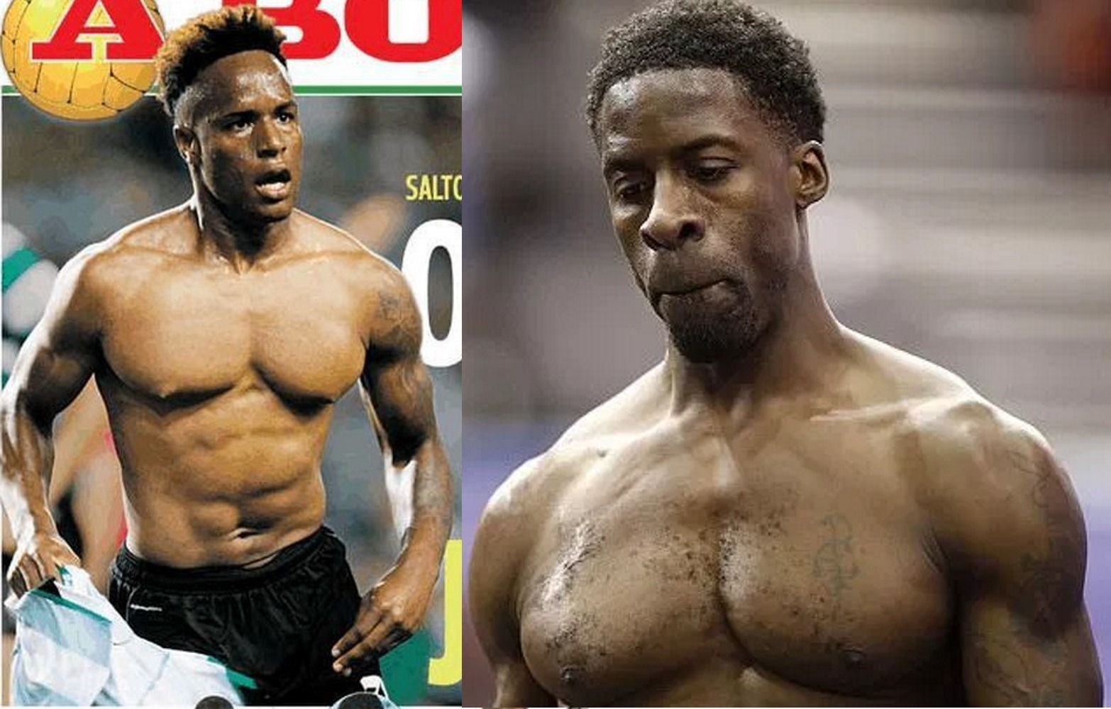 Jovane Cabral e Dwain Chambers