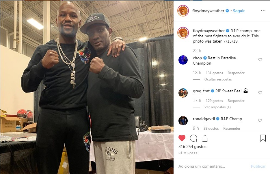 Floyd Mayweather & Pernell Whitaker