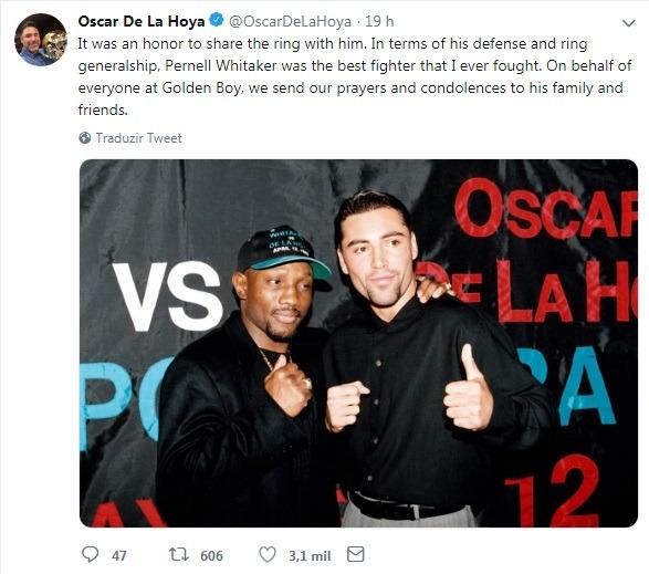 Oscar De La Hoya & Pernell Whitaker