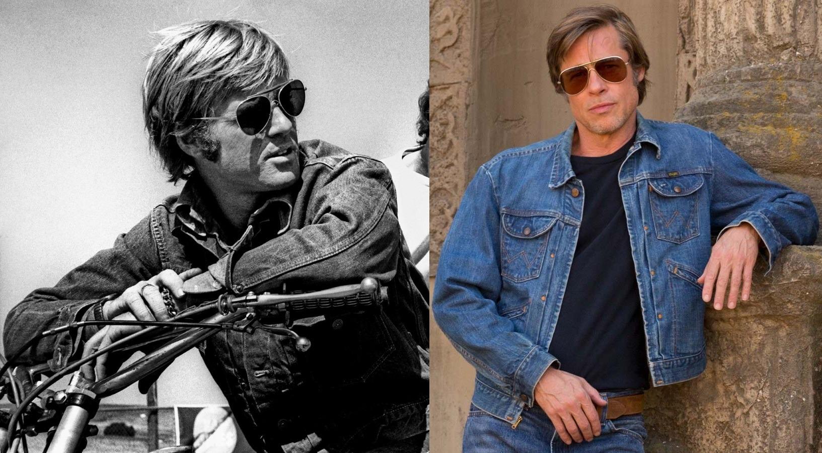 Robert Redford & Brad Pitt